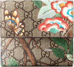 Gucci Tian french flap wallet - GG SUPREME TIAN - STYLE