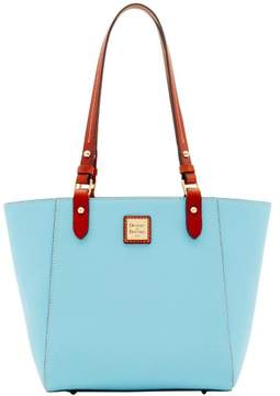 Dooney & Bourke Pebble Grain Janie Tote - CARIBBEAN BLUE - STYLE
