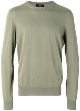 Fay crew neck sweatshirt