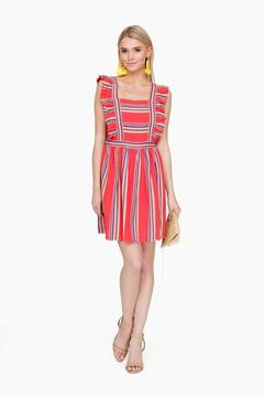 d.RA Southwestern Stripe Malibu Dress