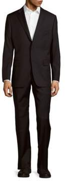 Hickey Freeman Classic-Fit Milburn Solid Wool Suit