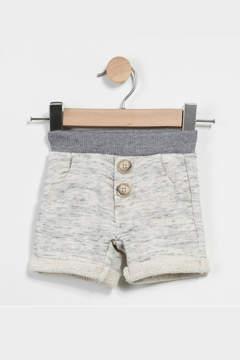 Catimini Heathered Fleece Shorts