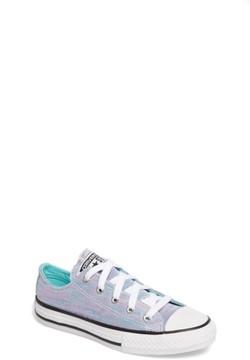 Converse Girl's Jersey Knit Low-Top Sneaker