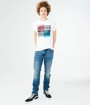 Aeropostale Los Angeles City Square Graphic Tee