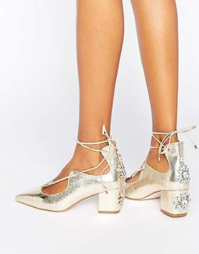 Asos SALOON Bridal Embellished Heels
