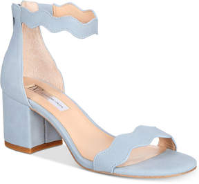 INC International Concepts I.n.c. Hadwin Scallop Two-Piece Sandals, Created for Macy's Women's Shoes