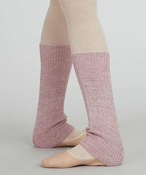 Capezio Pink Metallic Leg Warmers - Women