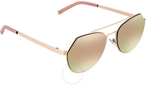 Cat Eye Bertha Hadley Rose Gold Sunglasses