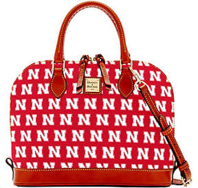 Dooney & Bourke NCAA University of NebraskaZip Zip Satchel - ONE COLOR - STYLE