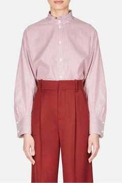 Atlantique Ascoli Romane Shirt Red/White Stripe
