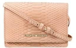 Emporio Armani Y3b086 Yh26a 80086 Nude Clutch Handbag.