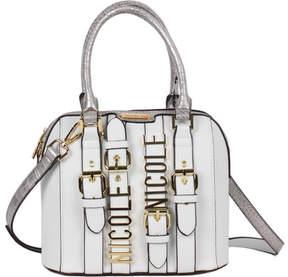 Nicole Lee Hilliard Belt Embellish Mini Dome Bag (Women's)