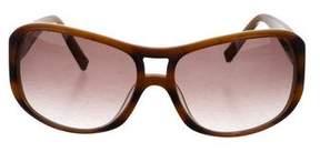 John Varvatos Gradient Logo Sunglasses