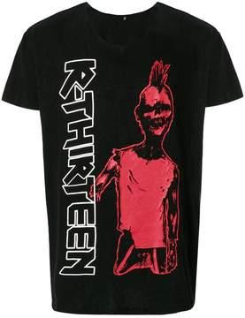 R 13 printed short-sleeve T-shirt