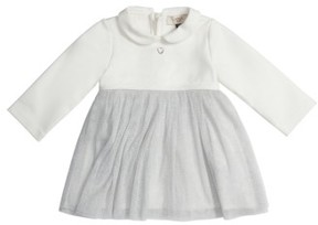 Armani Junior Infant Girl's Jersey & Tulle Dress