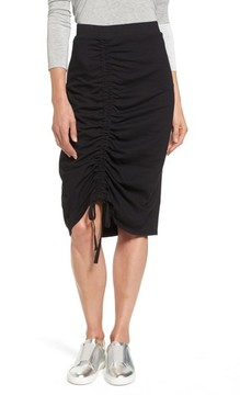 Caslon Women's Drawstring Cinched Pencil Skirt