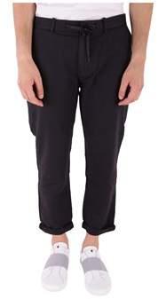 Scotch & Soda Men's Blue Cotton Pants.