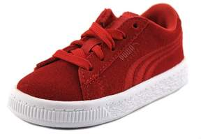 Puma Suede Classic Badge V Boys Athletic Shoes