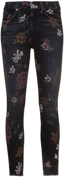7 For All Mankind jeans with floral print