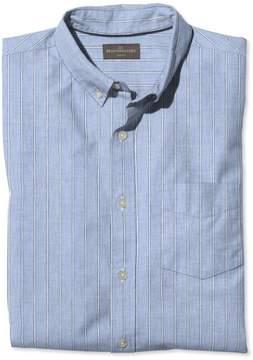 L.L. Bean L.L.Bean Signature End-on-End Shirt, Slim Fit Stripe