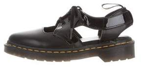 Dr. Martens Leather Lace-Up Oxfords