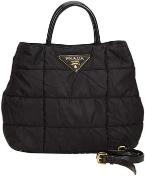 Prada Black Synthetic Handbag