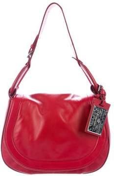 Ralph Lauren Leather Saddle Shoulder Bag