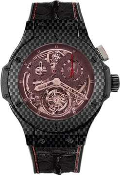 Hublot Big Bang Chronograph Tourbillon Carbon Fiber Men's Watch