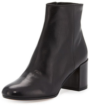 Vince Blakely Leather Ankle Boot, Black