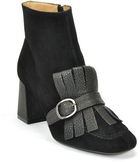 Roberto Festa Gianna - Suede Kilty Ankle Bootie