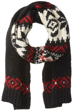 Polo Ralph Lauren Wool Snowflake Scarf Scarves