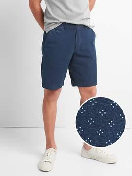 Gap 10 Washwell Vintage Wash Shorts in Indigo Dot