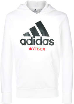 Gosha Rubchinskiy logo print hoodie