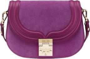 MCM Trisha Shoulder Bag In Suede