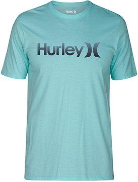 Hurley Men's One & Only Gradient Logo T-Shirt