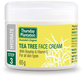Tea Tree Face Cream by Thursday Plantation (2.29oz Cream)