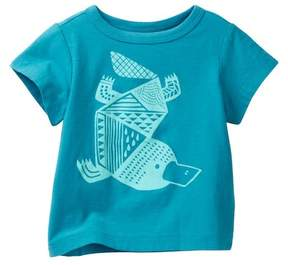 Tea Collection Platypus Graphic Tee (Baby Boys)