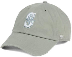 '47 Seattle Mariners Gray White Clean Up Cap