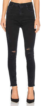 A Gold E AGOLDE Roxanne Super High Rise Skinny