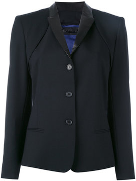 Barbara Bui leather lapel blazer
