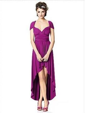 Dessy Collection TWISTPRM2 Dress In African Violet