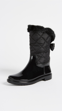 Kate Spade Reid Quilted Rubber Rainboots