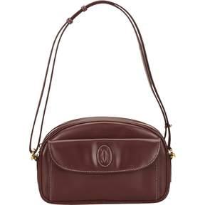 C leather handbag