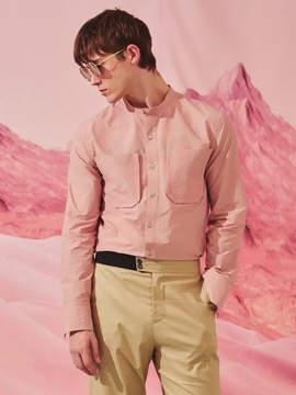General Idea String Shirt Pink