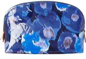 Louis Vuitton Limited Edition Blue Ikat Monogram Vernis Leather Cosmetic Pouch