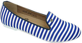 ARCOPEDICO Women's Stripe Smoking Flat