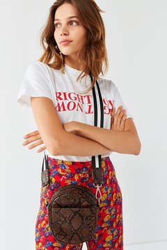 Urban Outfitters Oval Patent Crossbody Bag