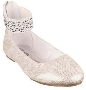 Nine West Girls' Faye 2 Ballet Flat
