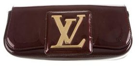 Louis Vuitton Vernis Sobe Clutch - BURGUNDY - STYLE