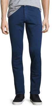 3x1 M3 Twill Slim-Straight Pants, Celeste